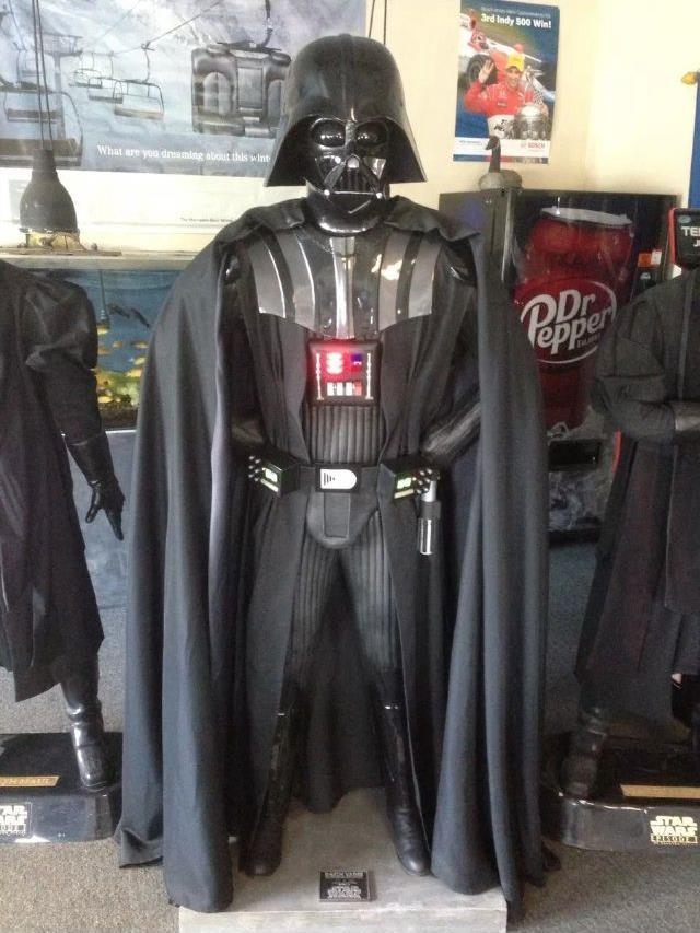 Life Size Star Wars Rubies Burnett Darth Vader In
